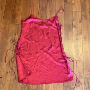 Victoria's Secret slip with adjustable tie sides